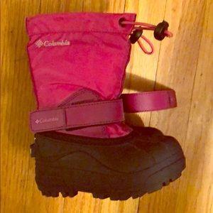 Columbia waterproof toddler boots